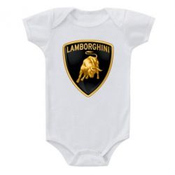 Детский бодик Lamborghini Logo - FatLine