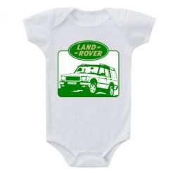 Детский бодик Land Rover - FatLine