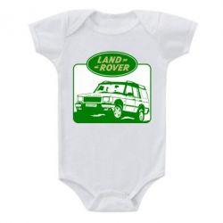 Детский бодик Land Rover