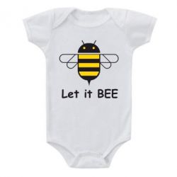 Детский бодик Let it BEE Android - FatLine