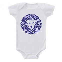 Детский бодик лев - FatLine