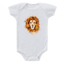 Детский бодик Lion Art - FatLine