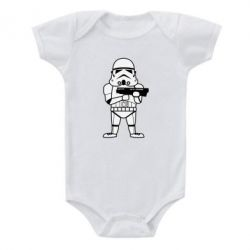 Детский бодик Little Stormtrooper - FatLine