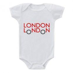 Детский бодик London - FatLine