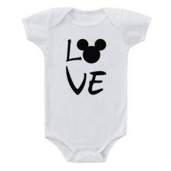 Дитячий бодік Love Mickey Mouse (male)