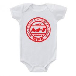 Детский бодик M-1 Logo - FatLine