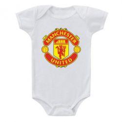Детский бодик Манчестер Юнайтед - FatLine