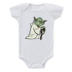 Детский бодик Master Yoda - FatLine