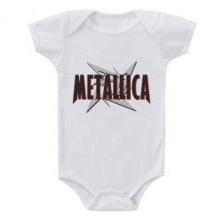 Детский бодик Metallica Logo - FatLine