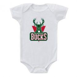 Детский бодик Milwaukee Bucks - FatLine