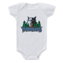 Детский бодик Minnesota Timberwolves - FatLine