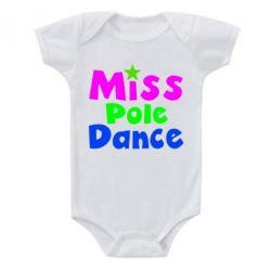 Детский бодик Miss Pole Dance - FatLine