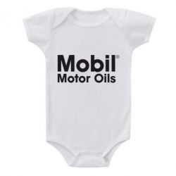 Детский бодик Mobil Motor Oils - FatLine