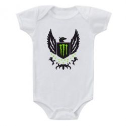 Детский бодик Monster Energy Army - FatLine