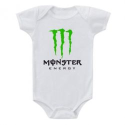 Детский бодик Monster Energy Classic - FatLine