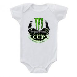 Детский бодик Monster Energy Cup - FatLine