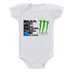 Детский бодик Monster Energy DC Shoes - FatLine