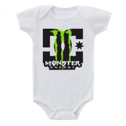 Дитячий бодік Monster Energy DC