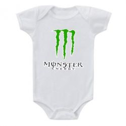 Детский бодик Monster Energy Logo - FatLine