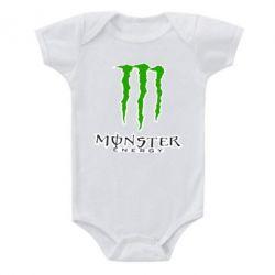 Дитячий бодік Monster Energy Logo
