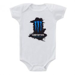 Детский бодик Monster Energy Paint - FatLine