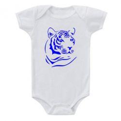 Детский бодик Морда тигра - FatLine
