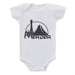 Детский бодик Mordor (Властелин Колец) - FatLine