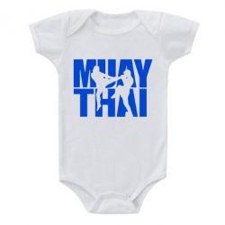 Дитячий бодік Муай Тай