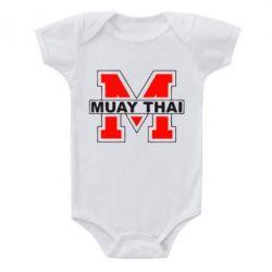 Детский бодик Muay Thai Big M - FatLine