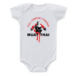 Детский бодик Muay Thai Full Contact - FatLine