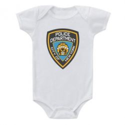 Детский бодик New York Police Department