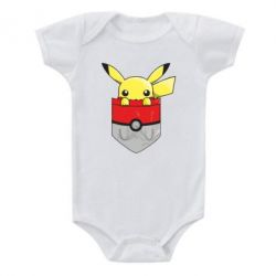 Детский бодик Pikachu in pocket - FatLine