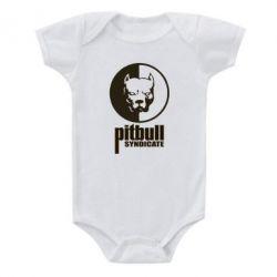 Детский бодик Pitbull Syndicate - FatLine