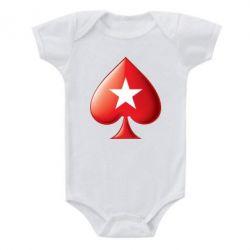 Детский бодик Poker Stars 3D Logo - FatLine