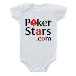 Детский бодик Poker Stars - FatLine