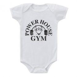 Детский бодик Power House Gym - FatLine