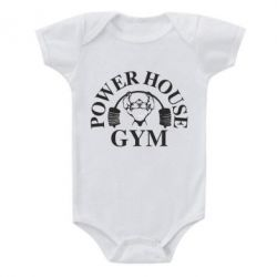 Детский бодик Power House Gym