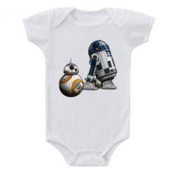 Детский бодик R2D2 & BB-8 - FatLine