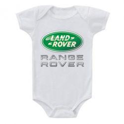 Детский бодик Range Rover Logo Metalic - FatLine