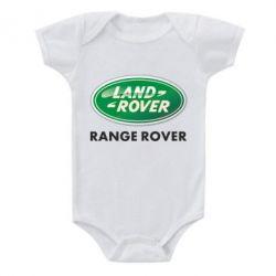 Детский бодик Range Rover - FatLine