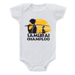 Детский бодик Samurai Champloo - FatLine