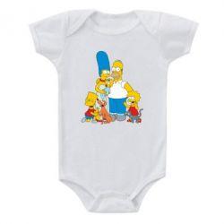 Детский бодик Simpsons Family - FatLine