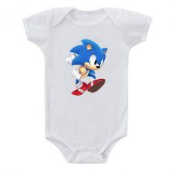 Детский бодик Sonic 3d - FatLine