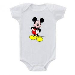 Детский бодик Сool Mickey Mouse - FatLine