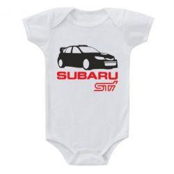 Детский бодик Subaru STI - FatLine