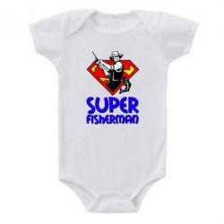 Детский бодик Super FisherMan - FatLine