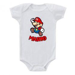 Детский бодик Супер Марио - FatLine