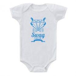Детский бодик Swag is your life - FatLine