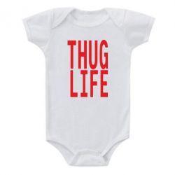 Детский бодик thug life - FatLine