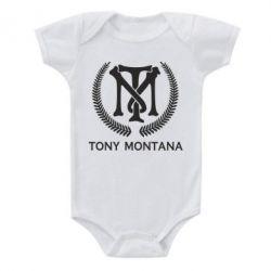 Дитячий бодік Tony Montana Logo
